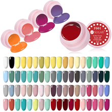 UR SUGAR 1 Bottle 5ml Soak Off Paint Gel UV LED Ink UV Color Paint Gel Nail Varnish Gel 31 Colors