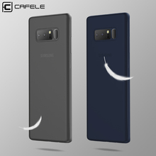Original CAFELE Phone Case for Samsung Galaxy Note 8 Ultra-thin Matte PP Mobile Phone Luxury Back Shell for Samsung Note 8 Case(China)