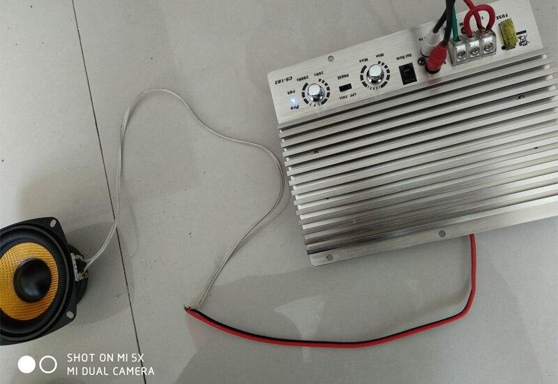 Car 12V Mono Amplifier Board