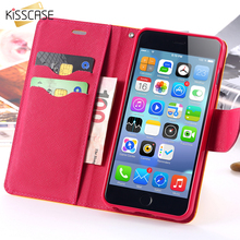 KISSCASE For Apple iphone 5 5S SE 5C Leather Cases Wallet Pouch Stand Card Slot Holder Phone Flip Cover For i5 SE Phone Bag case