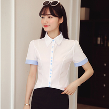 Phalinovic Women Summer Blouses White Designer Shirts Office Lady Tops Chinese Clothes Camisa Feminina Manga Comprida(China)