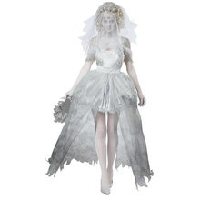 2017 new women Halloween costumes Sexy Spiritual Love Cosplay sexy Ghost bride costumes women scary funny uniforms(China)