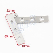 The Current Price of Stainless Steel 65mm x 13mm Door Hinges 8pcs