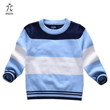 aipie 1pcs Children Boy's Girls Spring/Autumn Cotton Sweaters Good Price and Quality For 1-6 years kids wear Clothing(China)