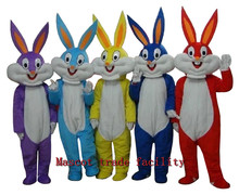 Sell like hot cakes, new Halloween costume its Bunny mascot costume Bugs Rabbit Hare Adult Fancy Dress Cartoon Suit Fancy Dress