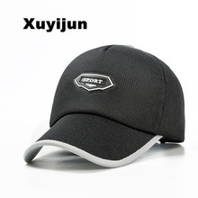 Xuyijun New Fashion Super Breathable Baseball Cap with Grid Summer Style Sun Visor Caps For Women Men Adjustable Snapback Hats