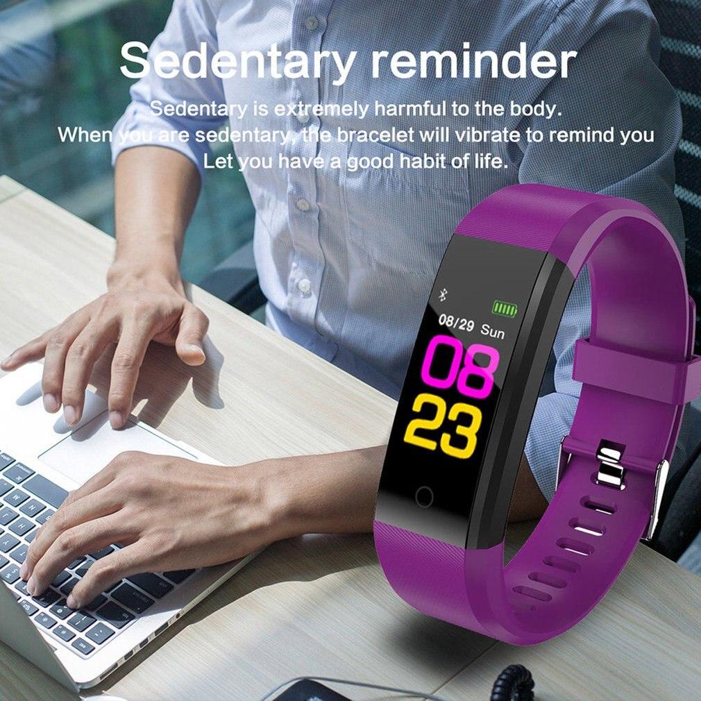 Smart Monitor Blood Pressure Fitness Tracker 8