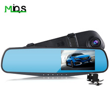 car camera rearview dual lens mirror auto dvrs cars dvr parking  video recorder registrator dash cam full hd 1080p night vision