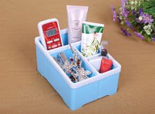 Hot Sales TV Game Video Audio Phone Caddy Remote Controllers Storage Box Organizer Holder