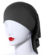 H1014 plain cotton jersey tube hats, longer on back,can choose colors,free shipping