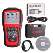 Autel 100% Original Maxidiag Elite MD703 Free Shipping MD 703 Scanner MD-703 Code Reader 4 System DS Model Sharply Stock