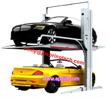 car lifting 2 two post residential auto lift auto car parking lift hydraulic 2 two post electric auto lift equipment 2017