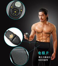 EMS Muscle stimulator Smart slimming massage belt Abs Abdominal Muscle Toner Core Abs Workout Belt EMS abdominal muscles(China)
