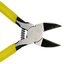 "5"" Mini Plastic Nippers High Quality CR-V Diagonal Pliers Electrical Wire Cutting Side Snips Flush Plier(China)"