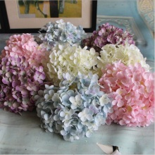 176 Petal/Flower Cheap Artificial Hydrangea Flower Ball DIY Silk Hydrangea Accessory for Home Wedding Decoration Fake Flores