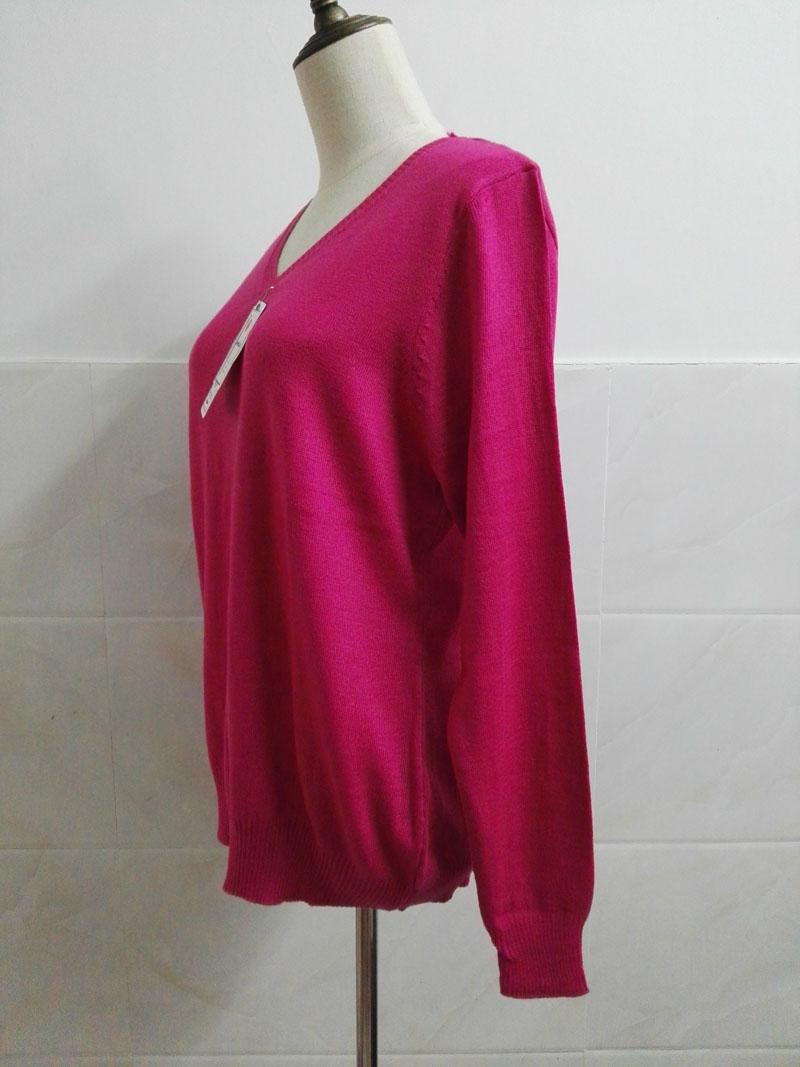 Cashmere Sweater V Neck Women Fashion Autumn Pullovers Knit Cashmere Sweater Women Slim Knit Coat Female Blouse Winter Knitwear 32