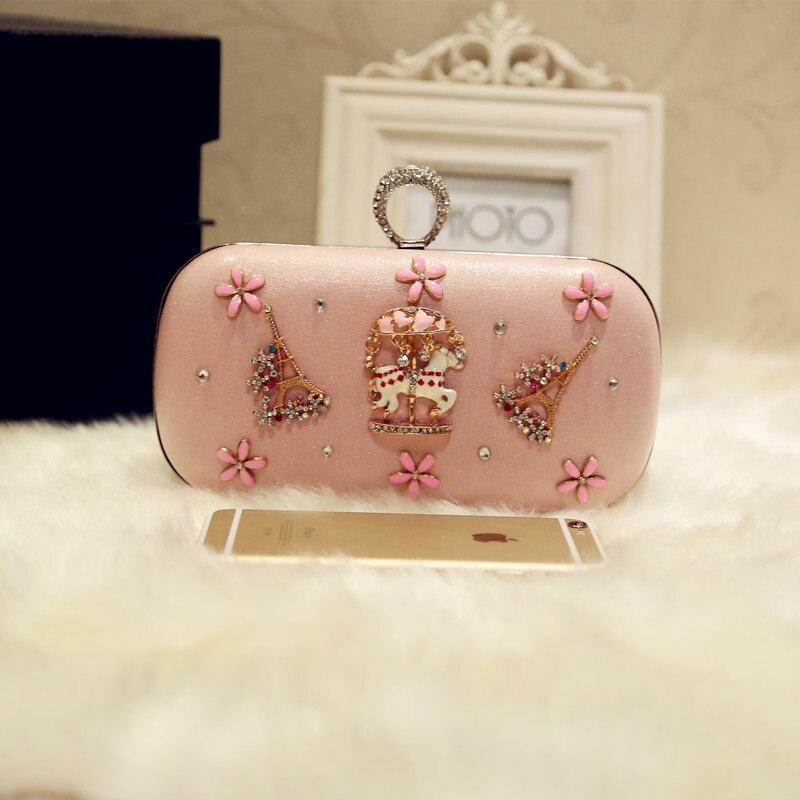 2017 Ladies Clutch Handbag Women Evening Bags Bridal Wedding Party Day Clutche Purse Chain Handbags bolsas mujer<br>