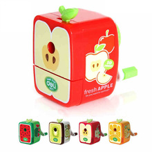 Cute IMC Wholesale Rh Walnut Hand Pencil  Sharpener Kawaii Fruite Cartoon School Stationery Supplies