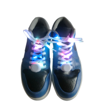 2017 Best Selling Light Up Nylon LED Shoelace for Christmas party dancing running(China)