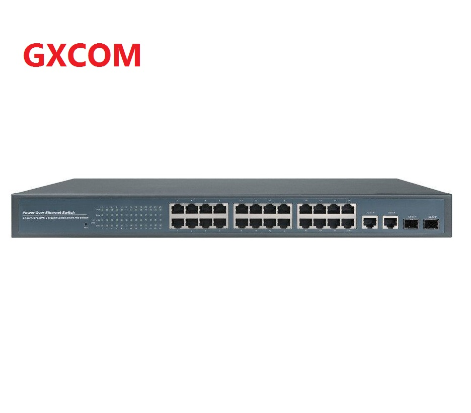 24V passive 24 port poe managed Switch ethernet for UBNT AP