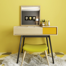 Nordic style furniture fashion bedroom dresser modern minimalist clamshell creative make-up table large-sized apartment(China)
