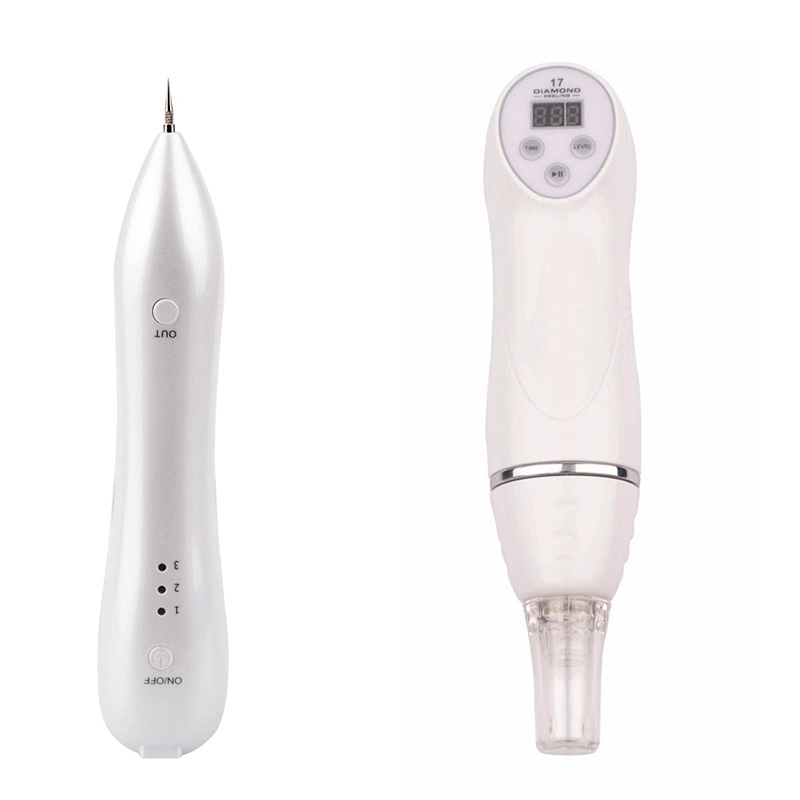 Portable Rechargeable Spot Speckle Nevus Pigment Removal Magic Pen+ Microdermabrasion Diamond Pore Peeling Acne Massager<br><br>Aliexpress