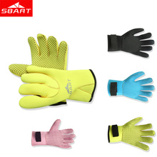 SBART Hot 3mm Neoprene Diving Gloves High Quality Gloves for Swimming Keep Warm Spearfishing Diving Equipment Anti-Jellyfish I(China)