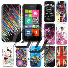 HIgh Quality Soft Butterfly Flower Design Cell Phones Case Cover SkinFor Nokia Lumia 530 Case
