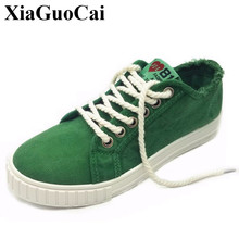 Summer Men Canvas Shoes Fashion Retro Artistic Youth Classic White Shoes Lace-up Casual Flats Shoes Breathable H288 35