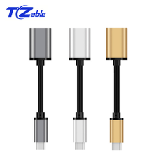 Type C OTG Cable Adapter USB 3.1 Type-C Male USB 3.1 Female OTG Data Cable Cord Adapter USB C Type-C Converter Xiaomi