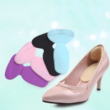 1 pair high heel shoes pad super soft insoles Comfortable Silicone Gel Heel Cushion Protector Feet Care 2015 Hot(China)