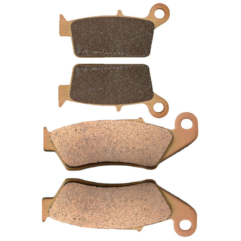 Motorcycle Parts Front &amp; Rear Brake Pads Kit For HONDA CR125R CR250R CR500R 1987-2001 Copper Based Sintered<br><br>Aliexpress