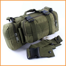 High quality Nylon Bags Army Green Tactical Molle Utility Waist Single Shoulder Backpack Bag Day Pack  Bicycle Bag Camera Bag