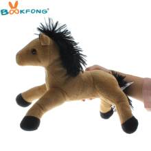 BOOKFONG 30cm Kawaii Horse Plush Doll Plush Stuffed Animal Horse Children Birthday Gift Home Shop Decor
