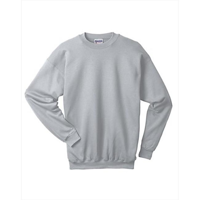 F260 Ultimate Cotton Crewneck Adult Sweatshirt Size Large Ash Grey