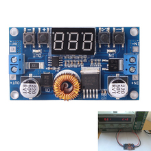 5A 5-36V To 1.2V-32V Step Down Module DC-DC Adjustable Voltage Buck Converter Board 75W With Voltmeter Digit LED Display(China)