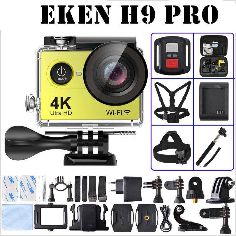 EKEN H9 Pro Action camera ultra 4K / 30fps Ambarella A12 3840*2160 remote WiFi pro Helmet Cam go H9Pro waterproof Sport camera<br><br>Aliexpress