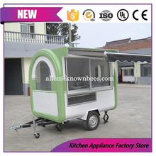 New Arrival Mobile Kitchen Food Cart Truck Outdoor