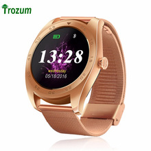 K89 Smartwatch Bluetooth 4.0 Pedometer Heart Rate Monitor Smart Watch With Three-axis Accelerometer Loudspeaker for Apple phone