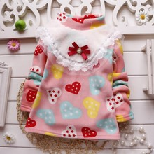 BibiCola 2016 kids pullovers children jumper clothing baby girls fleece sweaters winter warm clothes for girls tops outfits