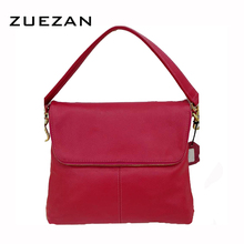 10*9 inch Fold Bag 2 Straps Women Genuine Leather Bag TOP Layer Leather Shoulder Bags Girls Real Cow's Skin Crossbody bags A075L