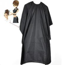 1Pcs Black Barber Cape Salon Hairdressing Cape Hairdresser Hair Cutting Gown Barber Cape Cloth Adult Kids