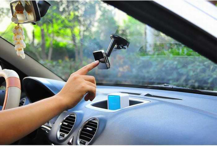 Universal Car Mount Silicone Sucker Phones Holder Bracket on Windshield Stands silicon car stand for iPhone for HTC Smartphones(China)