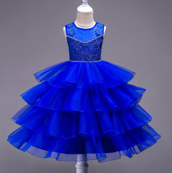 Crystal Beaded Short Flower Girl Dresses Ball Gown Ruffles Organza Cute Girls Prom Dress Pageant Party Gown communion<br>