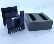 EE65 2000W large power transformer bobbin + TDG TP4 EE65/65/27A ferrite Core 16pin PTH, horizontal(China)