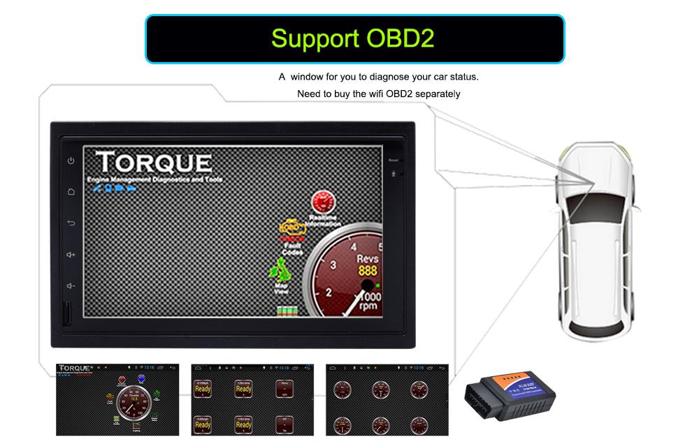 4G SIM LTE Network Ownice C500 Octa 8 Core Android 6.0 2G RAM 2 Din Car DVD GPS Navi Radio Player For VW Skoda Octavia 2 t2