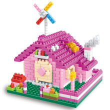 2017 New Colorful Princess House Model Building Blocks Sets Toys for Children Educational Kids Bricks Small Plastic Brinquedos