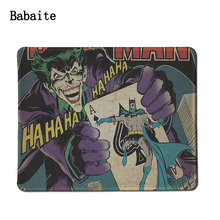 Babaite 2017 New Mouse pad Large Batman and Joker thermal transfer Quality Customization Mouse Pads at Office Depot Office Max(China)