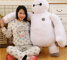 "39 ""hero / 100 cm 6 giant teddy toys, cute teddy bear, soft Baymax big gift, free shipping(China)"