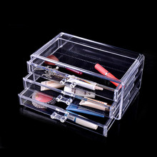 Butihome Acrylic Makeup Organizer Storage Cosmetic Table Stand Lipstick Storage Box Holder Rack Plastic Case 24 Cell Home